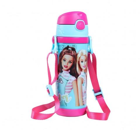 Barbie Best Day Steel Inner Water Bottle 350 Ml for Age 3Y+