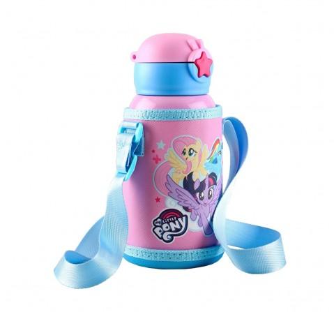 Hasbro My Little Pony Steel Inner Water Bottle 520 Mlfor Age 3Y+ (Pink)