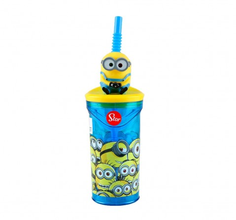 Minions Stor 3D Figurine Tumbler Minions 360 Ml for Age 3Y+