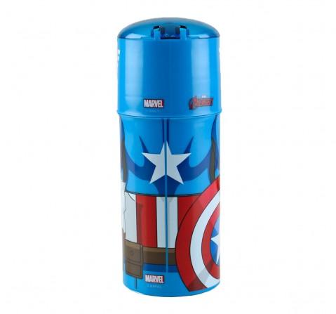 Avengers Stor Character Sipper Bottle Captain America 350 Ml, 2Y+ (Multicolor)