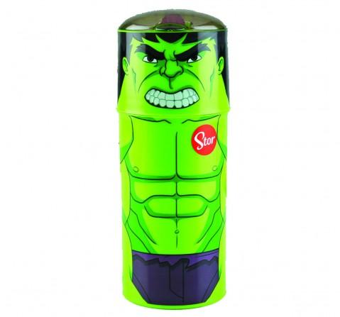 Avengers Stor Character Sipper Bottle Hulk 350 Ml, 2Y+ (Multicolor)
