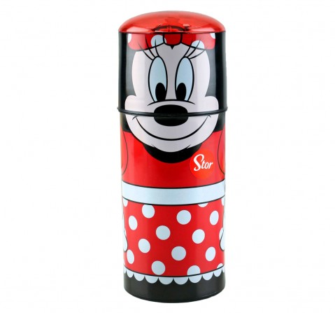 Disney Stor Character Sipper Bottle Minnie Dots & Bows 350 Ml, 2Y+ (Multicolor)