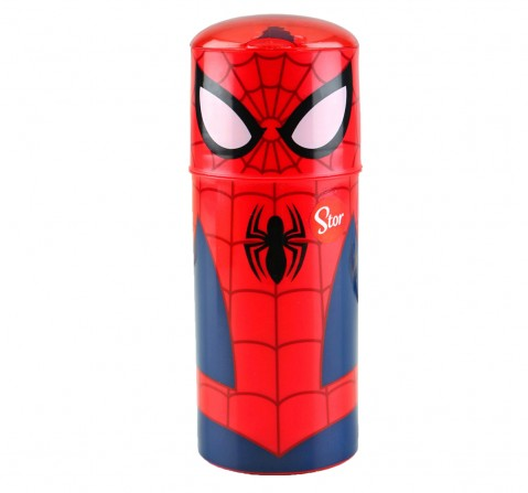 Stor Character Sipper Bottle Ultimate Spiderman 350 Ml, 2Y+ (Multicolor)