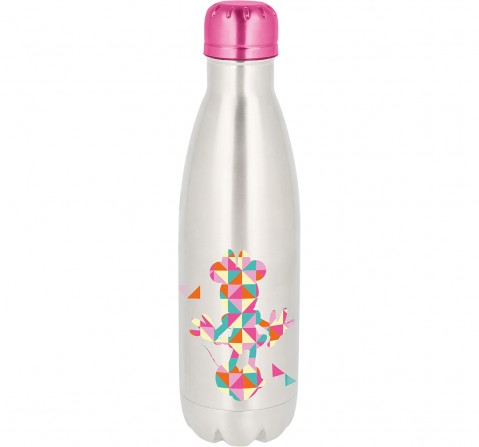 Disney Story Young Minnie Adult Stainless Steel Bottle Bags for Kids age 7Y+ , 780 ml