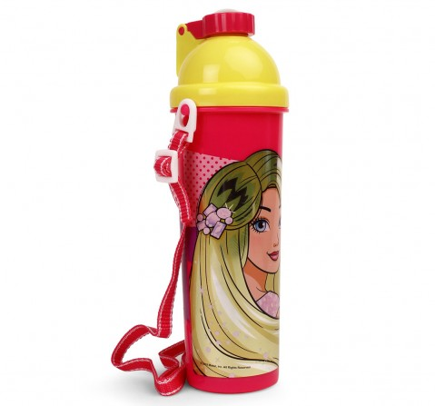 Barbie Sparkle Pink Water Bottles & Sipper for Girls age , 750 ml for age 3Y+