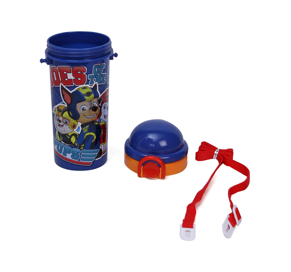 Paw Patrol Heroes of The Sky Water Bottle 450 ml for age 3Y+  Quirky Soft Toys for Kids age 3Y+ - 18.2 Cm