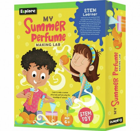 Explore My Summer Perfume Making Lab Science Kits for Kids Age 6Y+