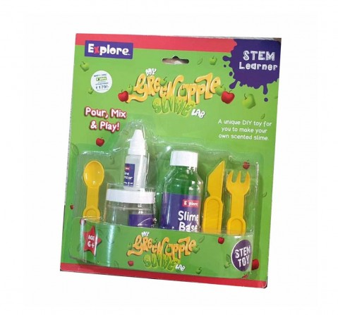 Play Craft My Green Apple Slime Lab Science Kits for Kids Age 6Y+