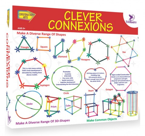 Toy Kraft Clever Connexions, Multicolor, 5Y+