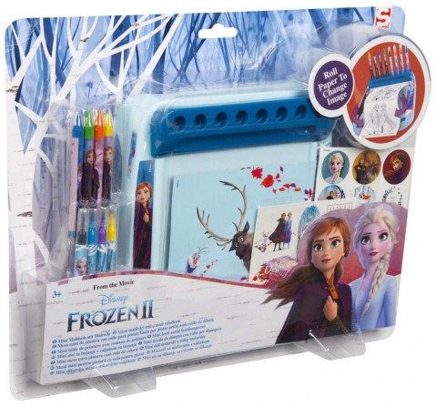 Disney Frozen 2 Deluxe Roll and Go DIY Art & Craft Kits for Girls age 3Y+