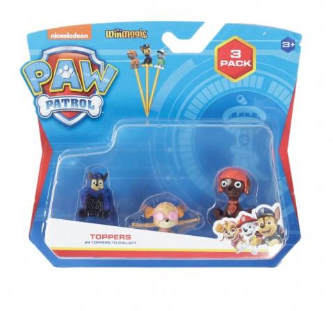 Paw Patrol Pencil Toppers 3 PCs Blind Pack, 3Y+
