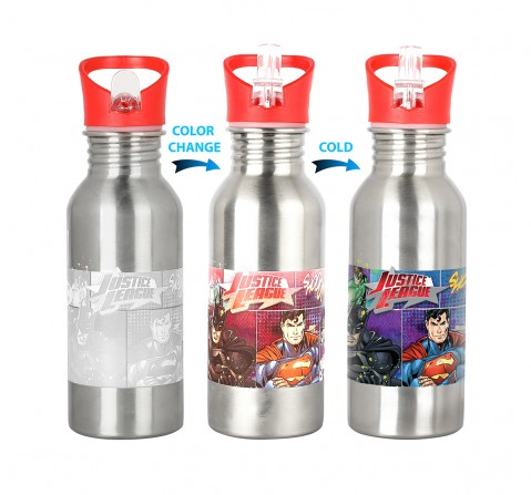 Knack Justice League Time for Justice Water Bottle for Kids age 3Y+