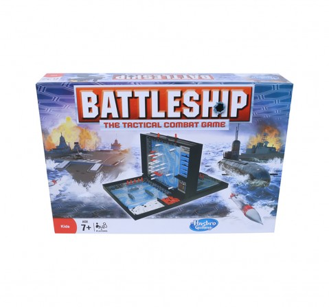 Hasbro Battleship Board Game Classic Strategy Game for Kids age 7Y+