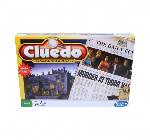 Hasbro Cluedo The Classic Detective Board Game for Kids age 8Y+