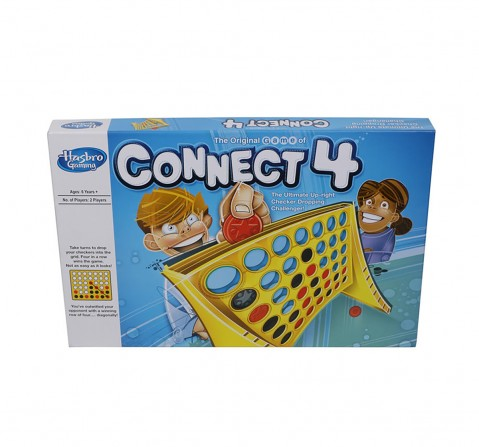 Hasbro Connect 4 Classic Grid Board Games for Kids age 6Y+