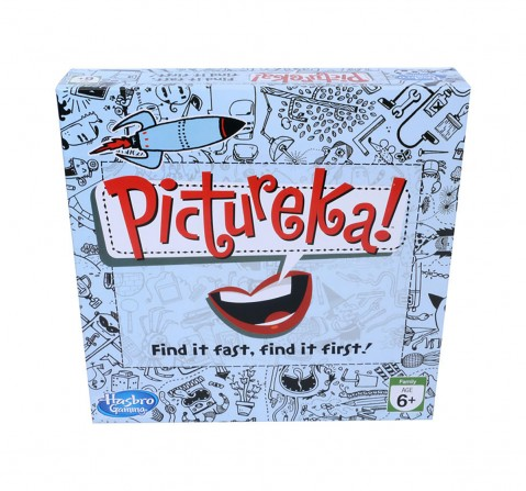 Hasbro Pictureka! Board Game For Family And Kids, Indoor Classic Board Game for Kids age 8Y+