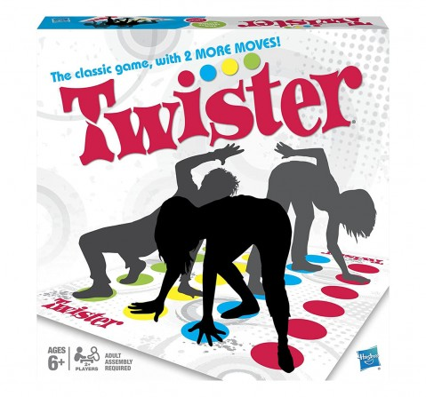 Hasbro Twister Party Game For Family And Kids Board Games for Kids age 4Y+