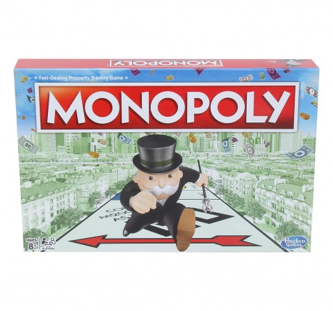 Hasbro Monopoly Classic Board Game For Families And Kids Board Games for Kids age 8Y+
