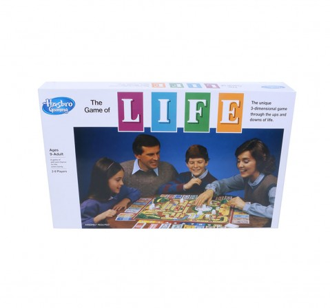 Hasbro The Game Of Life Board Game For Families And Kids Board Games for Kids age 8Y+