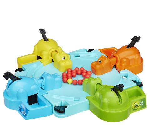 Hasbro Gaming Elefun & Friends Hungry Hungry Hippos Game Games for Kids age 4Y+