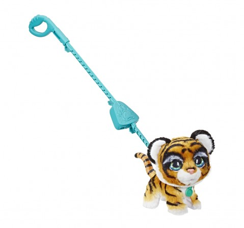 Furreal Friends Walkalots Big Wags Animatronic Plush Tiger Toy Interactive Soft Toys for GIRLS age 4Y+ - 22.86 Cm