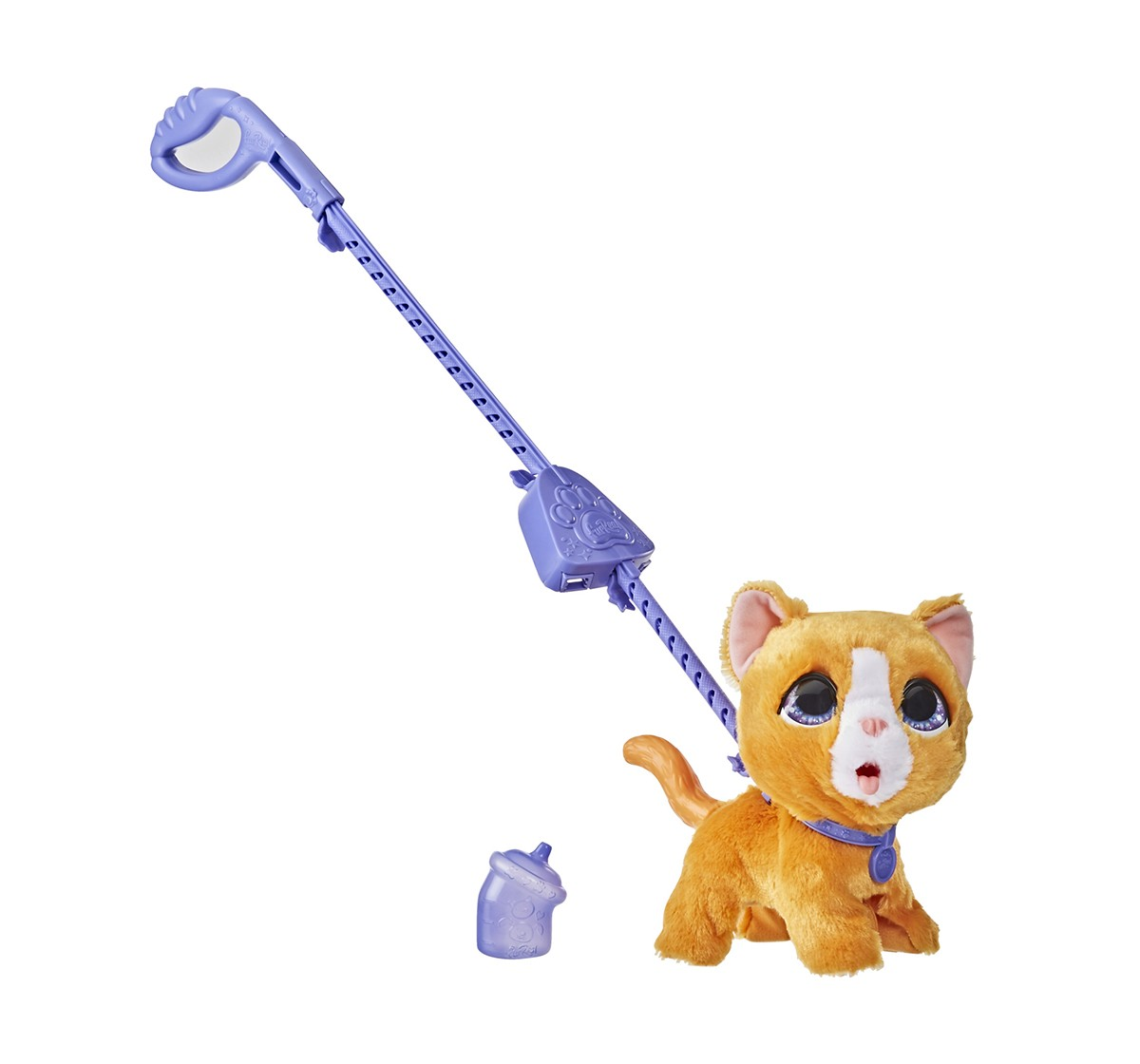 Furreal Friends Peealots Big Wags Kitty Interactive Pet Toy, Ages 4 and Up Interactive Soft Toys for GIRLS age 4Y+ - 22.86 Cm
