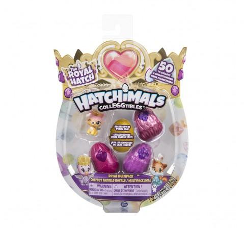Hatchimals Colleggtibles Season 6 4 Pack + Bonus Novelty for Girls age 5Y+ - 22.86 Cm