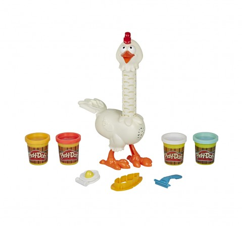 Play-Doh Feather Fun Chicken Clay & Dough for Kids age 3Y+