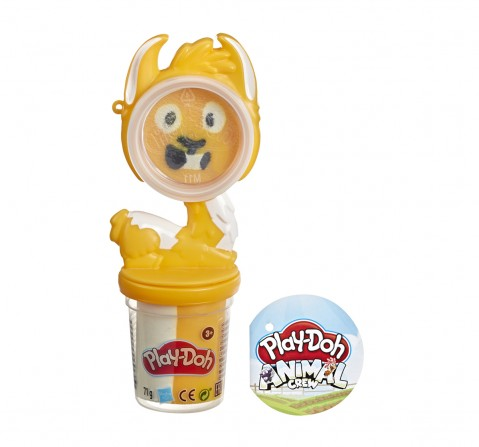 Play-Doh Animal Crew Can Pals Goat Toy - Non-Toxic Play-Doh Compound Shaped into a Funny Goat Character with Play-Doh Accessories  Clay & Dough for Kids age 3Y+