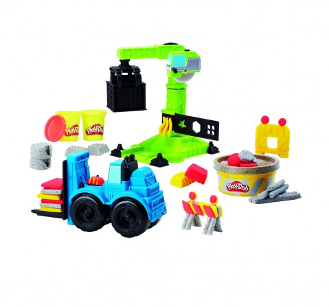 Play-Doh Crane n Forklift Clay & Dough for Kids age 3Y+