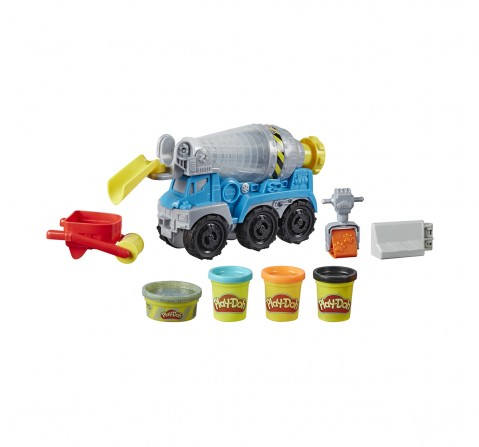 Play-Doh Cement Mixer Clay & Dough for Kids age 3Y+