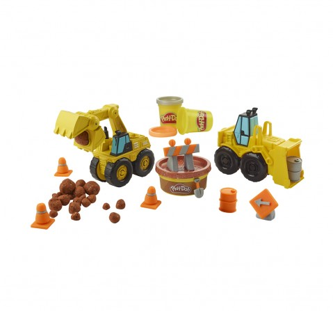 Play-Doh Excavator N Loader Clay & Dough for Kids age 3Y+