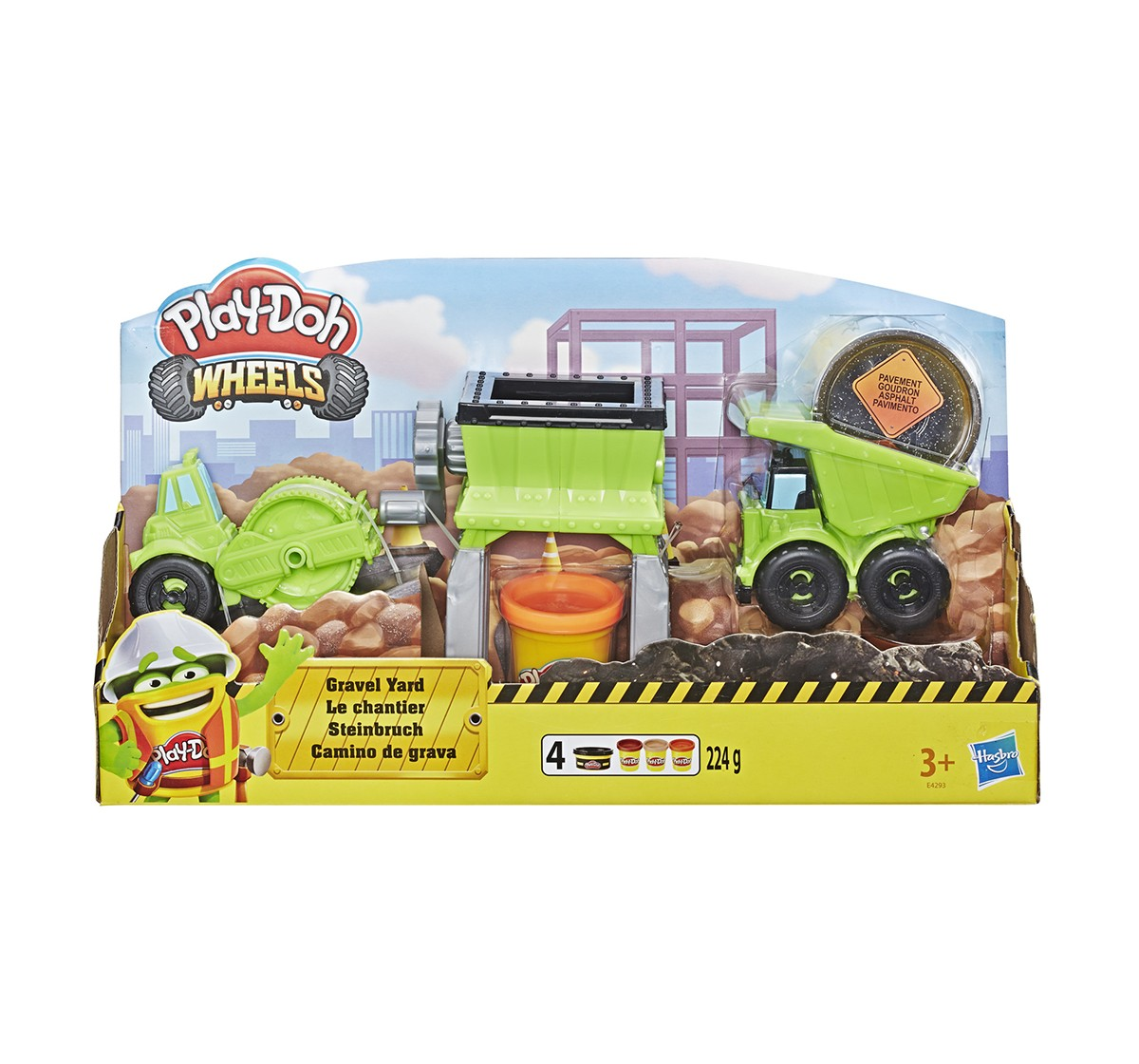 Play-Doh Gravel Yard Clay & Dough for Kids age 3Y+