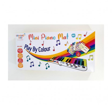Hamleys Shooting Star Mini Piano Mat Musical Toys for Kids age 3Y+