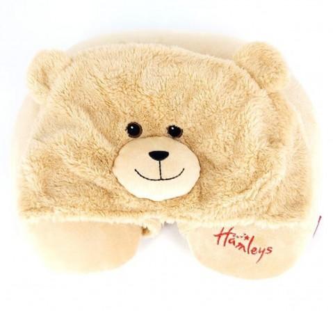 Hamleys Neck Pillow Bear, Unisex, 3Y+ (Multicolor)