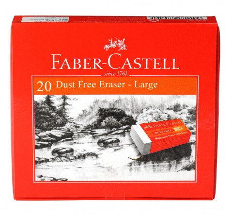 Faber-Castell  dustfree eraser large box 20, 10Y+