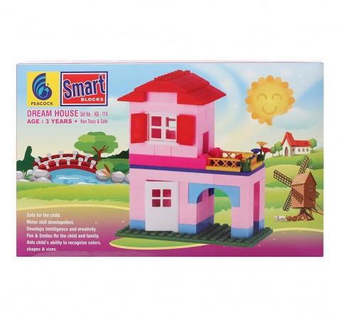 Peacock Toys Dream House -114, Unisex, 3Y+ (Multicolour)