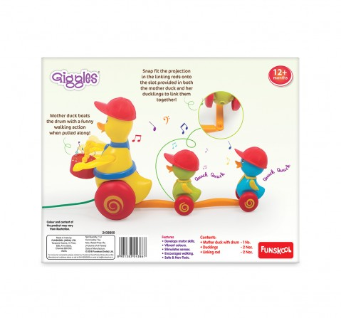 Giggles Duck Parade Early Learner Toys for Kids Age 12M+