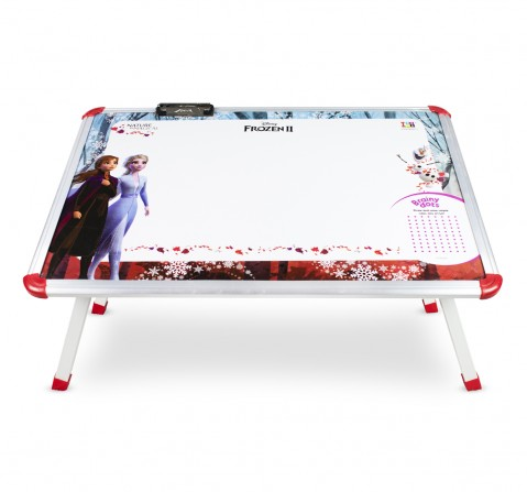 IToys Disney frozen 2 big writing table for kids, Unisex, 4Y+(Multicolour)