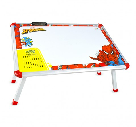 IToys Marvel Spiderman big writing table for kids, Unisex, 4Y+(Multicolour)