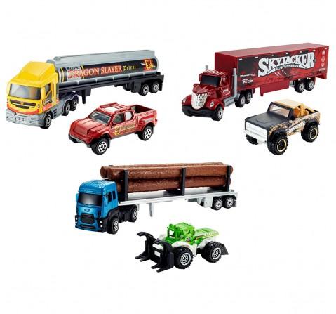 Matchbox Convoy Die Cast Trucks, Boys, 2Y+ (Multicolor)