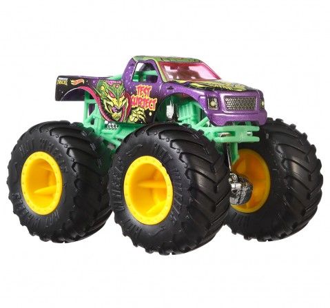 Hot Wheels Monster Trucks 1:64 Scale Die Cast 4 Pack Assorted, Unisex, 6Y+ (Multicolor)
