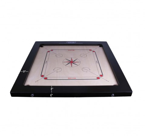 Siscaa Tournament Carrom Indoor Sports for Kids Age 13Y+