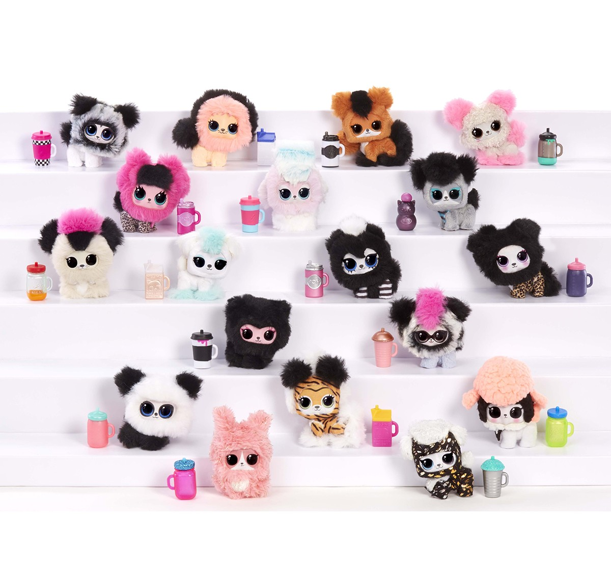 Lol Surprise Fluffy Pets, Collectible Dolls for Girls age 3Y+ (Assorted)