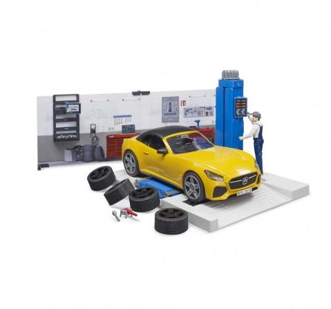 Bruder Bworld Car Service Vehicles for Kids Age 3Y+