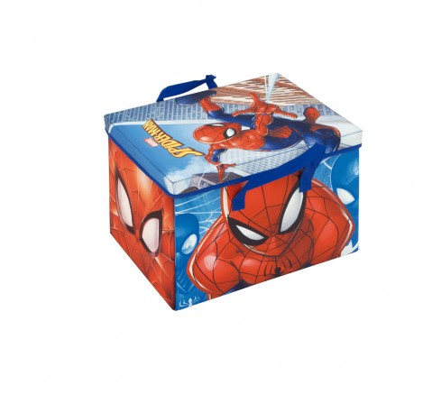 Marvel Spiderman Fabric Storage Box With Playmat Room Furnishing for Boys age 3Y+