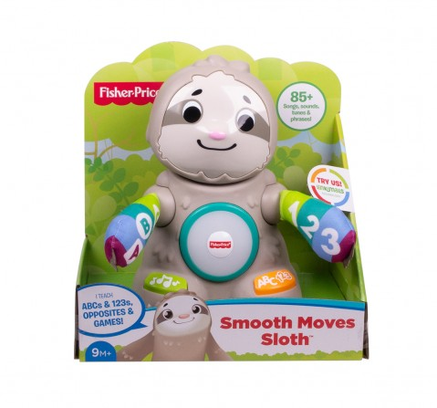 Fisher-Price Linkimals Smooth Moves Sloth Learning Toys for Kids age 9M+