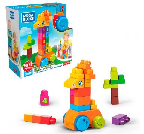 Mega Count & Bounce Giraffe 30 Pcs, Unisex, 1Y+ (Multicolor)