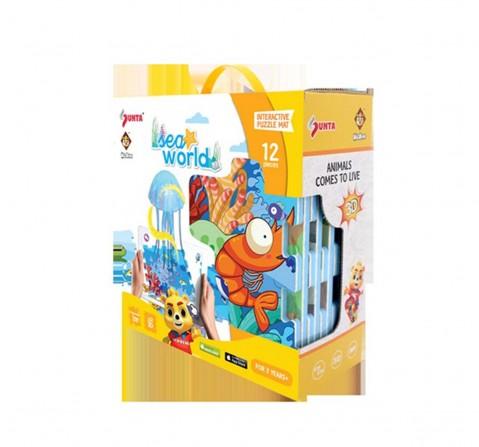 Sunta H.Trf Printedar Puzzle Popup Mat-Sea World Baby Gear for Kids Age 10M+