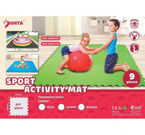 Sunta Sports Activity Mat Baby Gear for Kids Age 10M+
